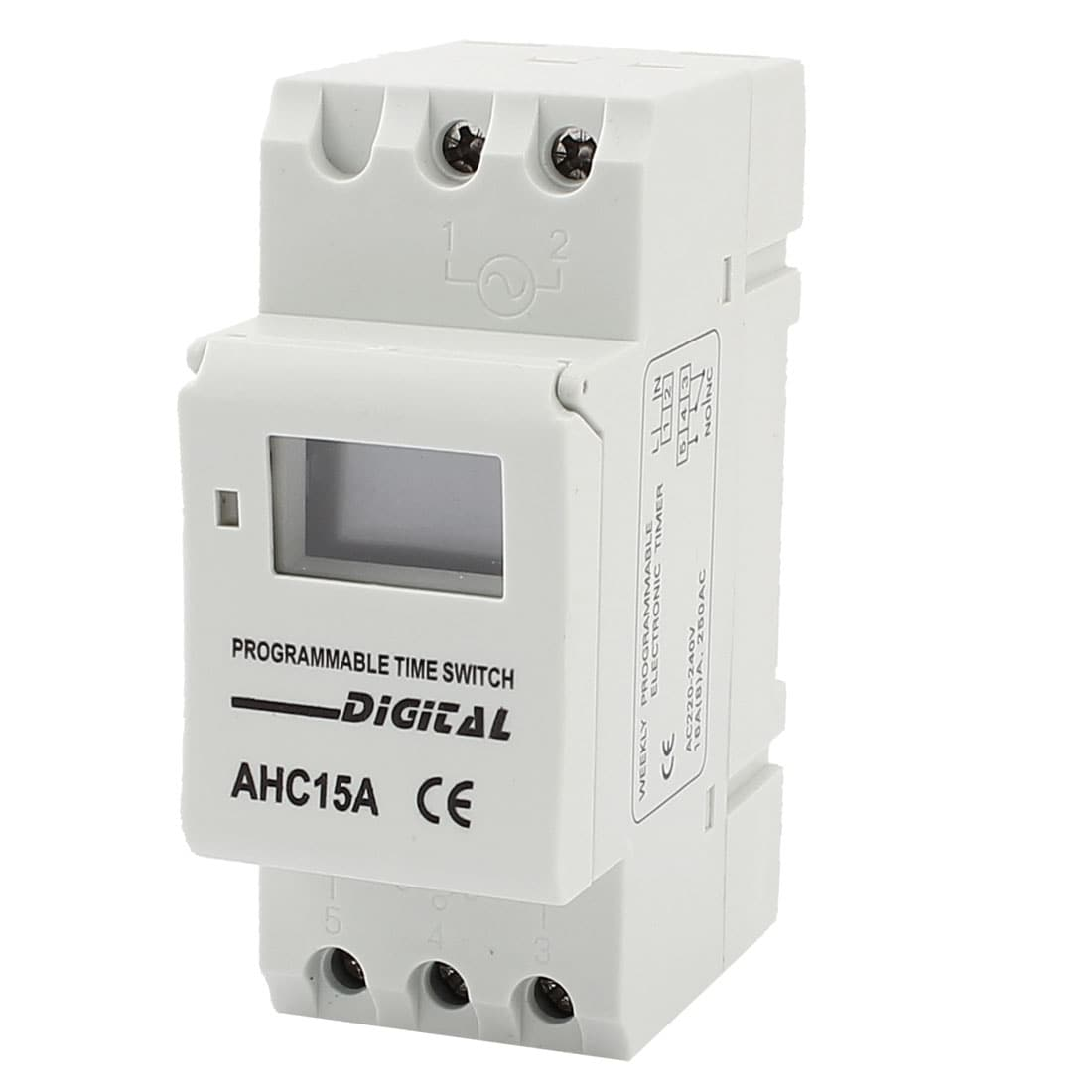 Shop Ahc15a Ac 220v Digital Lcd Power Weekly Programmable Timer Time Circuit Relay Switch Free Shipping On Orders Over 45 18246988