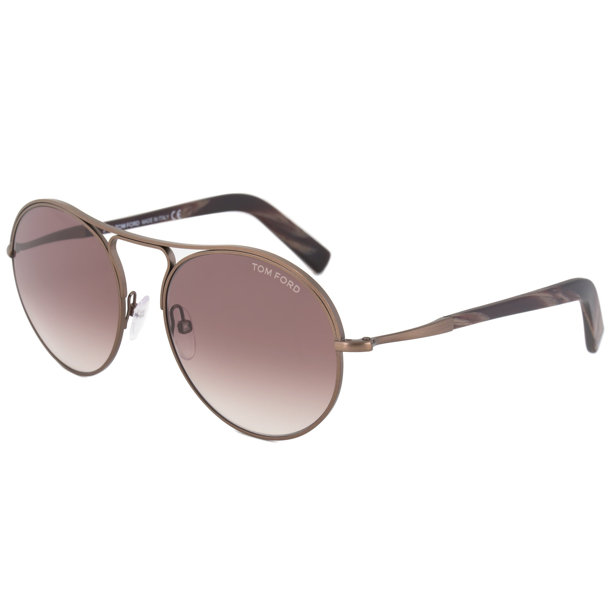 acef4b7ea6 Shop Tom Ford Jessie Women s Round Sunglasses FT0449 49T 54 - Free Shipping  Today - Overstock - 19622868