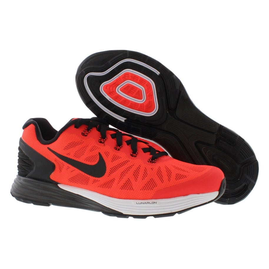 Shop Nike Lunarglide 6 (GS) Running Girl s Shoes - 4 Big Kid M - Free  Shipping Today - Overstock.com - 22163462 1688a1f3a0a0