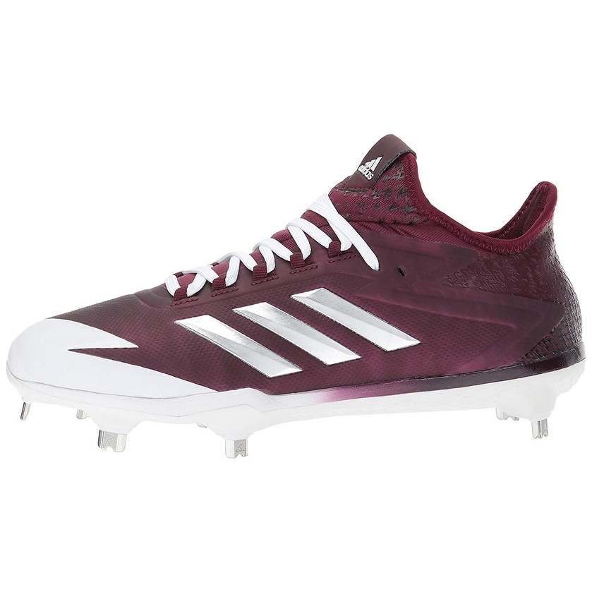 0af62c29d Shop Adidas Mens adizero afterburner 4 Low Top Lace Up Baseball Shoes -  Ships To Canada - Overstock - 22818523