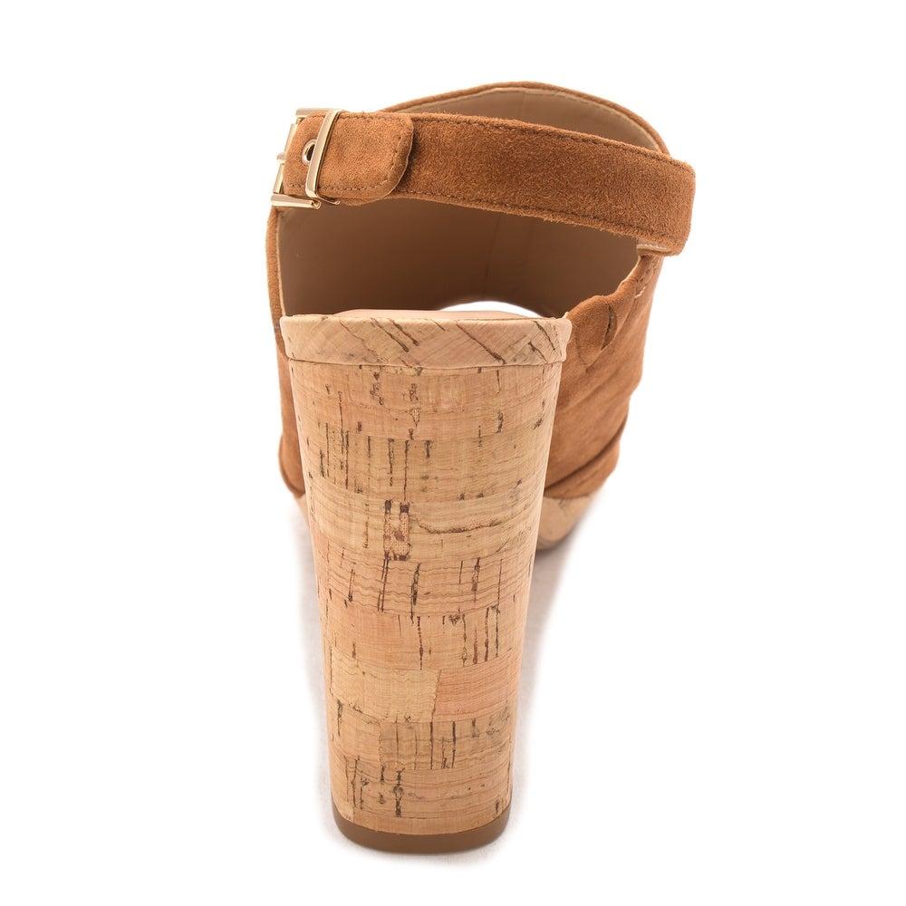 Shop INC Concepts International Concepts INC Damenschuhe Tangia Leder Peep Toe ... 39eae4