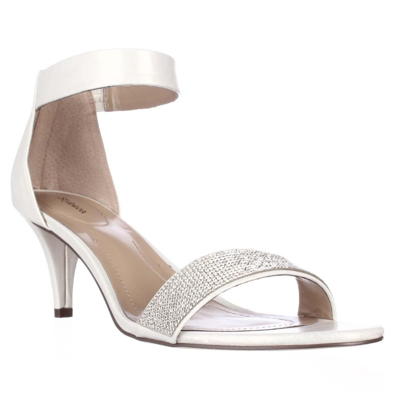 Shop SC35 Phillys Ankle-Strap Evening Sandals