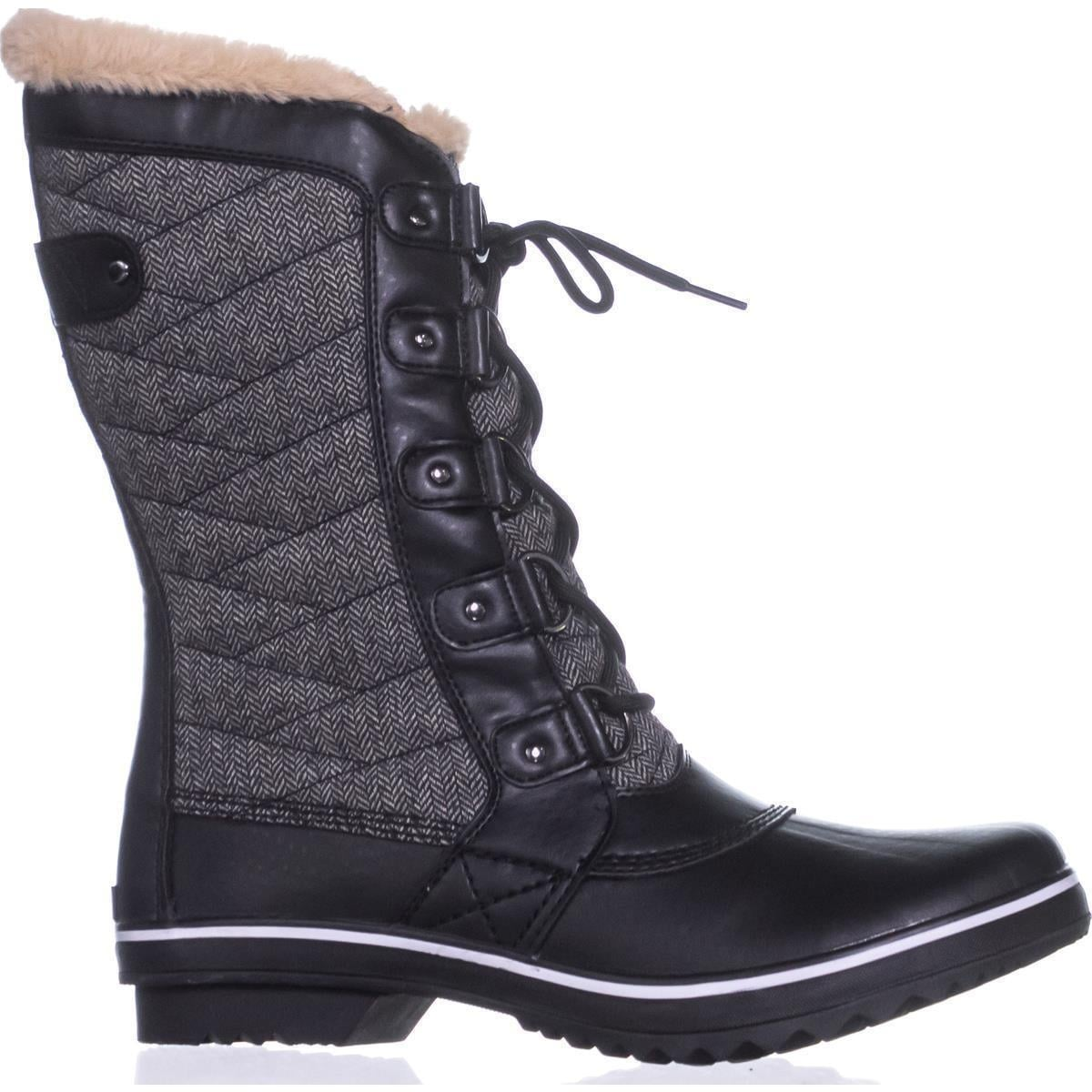 efca5990b Shop JBU by Jambu Lorna Cold-Weather Boots, Herringbone Black - On Sale -  Free Shipping Today - Overstock - 19739880
