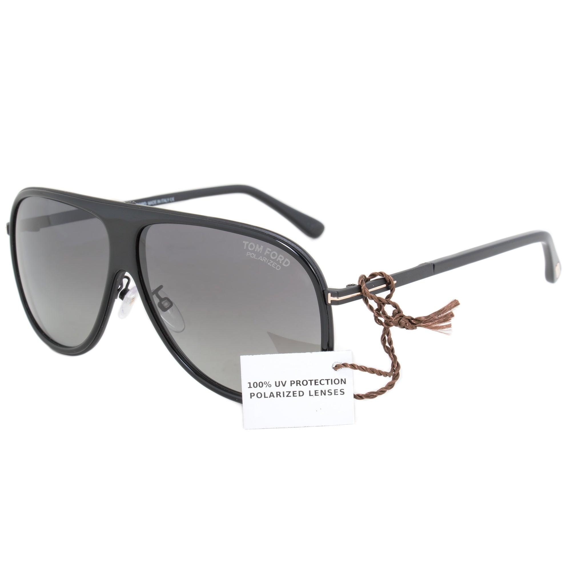 74bac2ecdc Shop Tom Ford FT0462F 01D Polarized Sunglasses - On Sale - Free ...