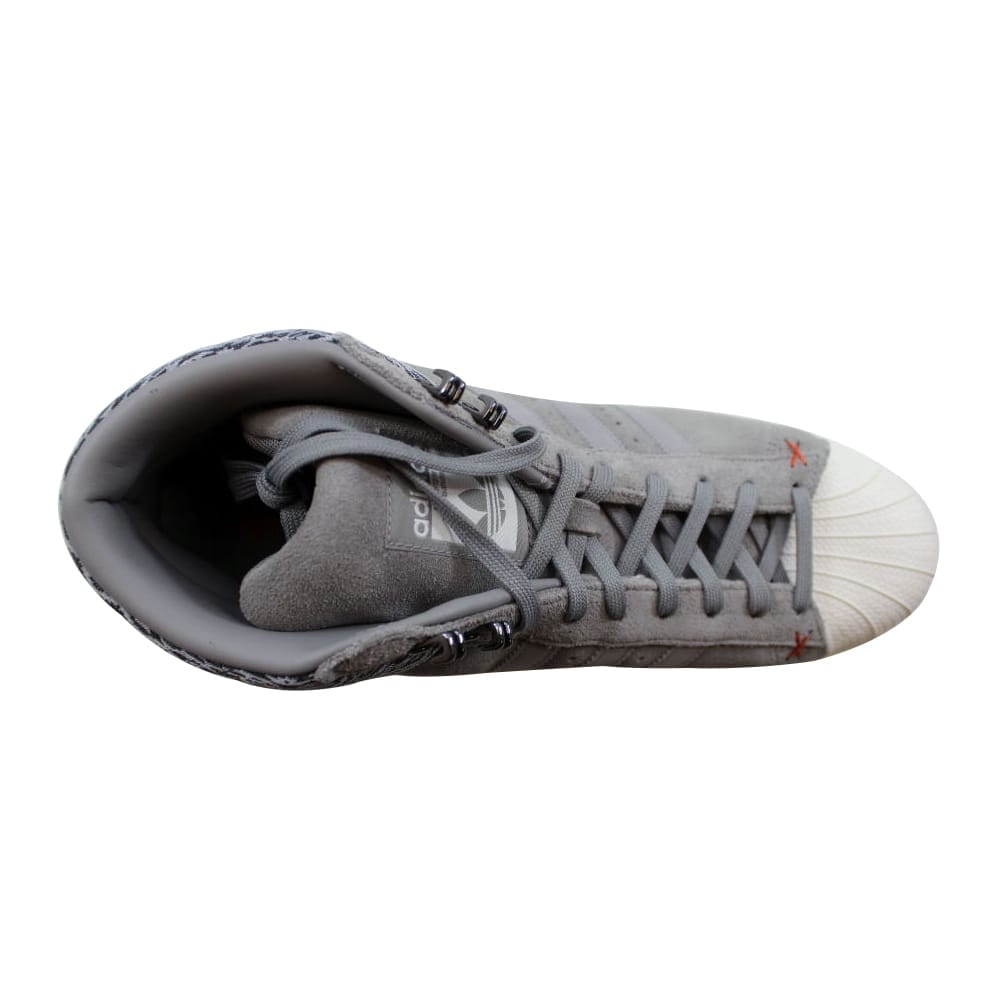94d2c1a9a2d2 Shop Adidas Pro Model BT Charcoal Grey White AQ8160 Men s - On Sale - Free  Shipping Today - Overstock - 22340423