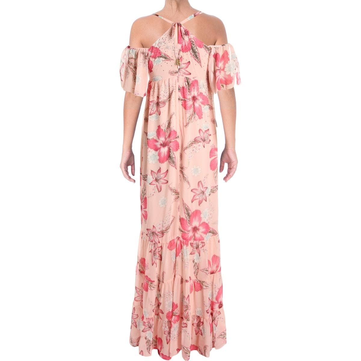 b571a8e8e Shop Juicy Couture Black Label Womens Hidden Cove Maxi Dress Chiffon Floral  Print - Free Shipping On Orders Over $45 - Overstock - 23474380