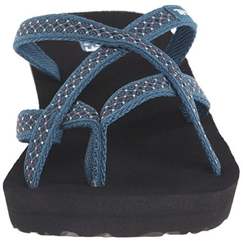 c11acb0f4c9360 Shop Teva Women s Mush Mandalyn Ola Wedge Sandal - rumi deep teal - Free  Shipping On Orders Over  45 - Overstock - 20715600