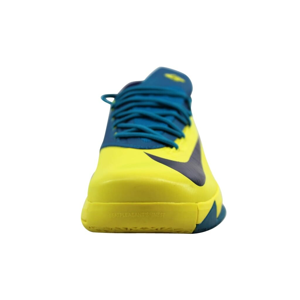 reputable site 94774 0153b Shop Nike Men s KD VI 6 Sonic Yellow Midnight Navy-Tropical Teal Seat  Pleasant 599424-700 - Free Shipping Today - Overstock.com - 22340203