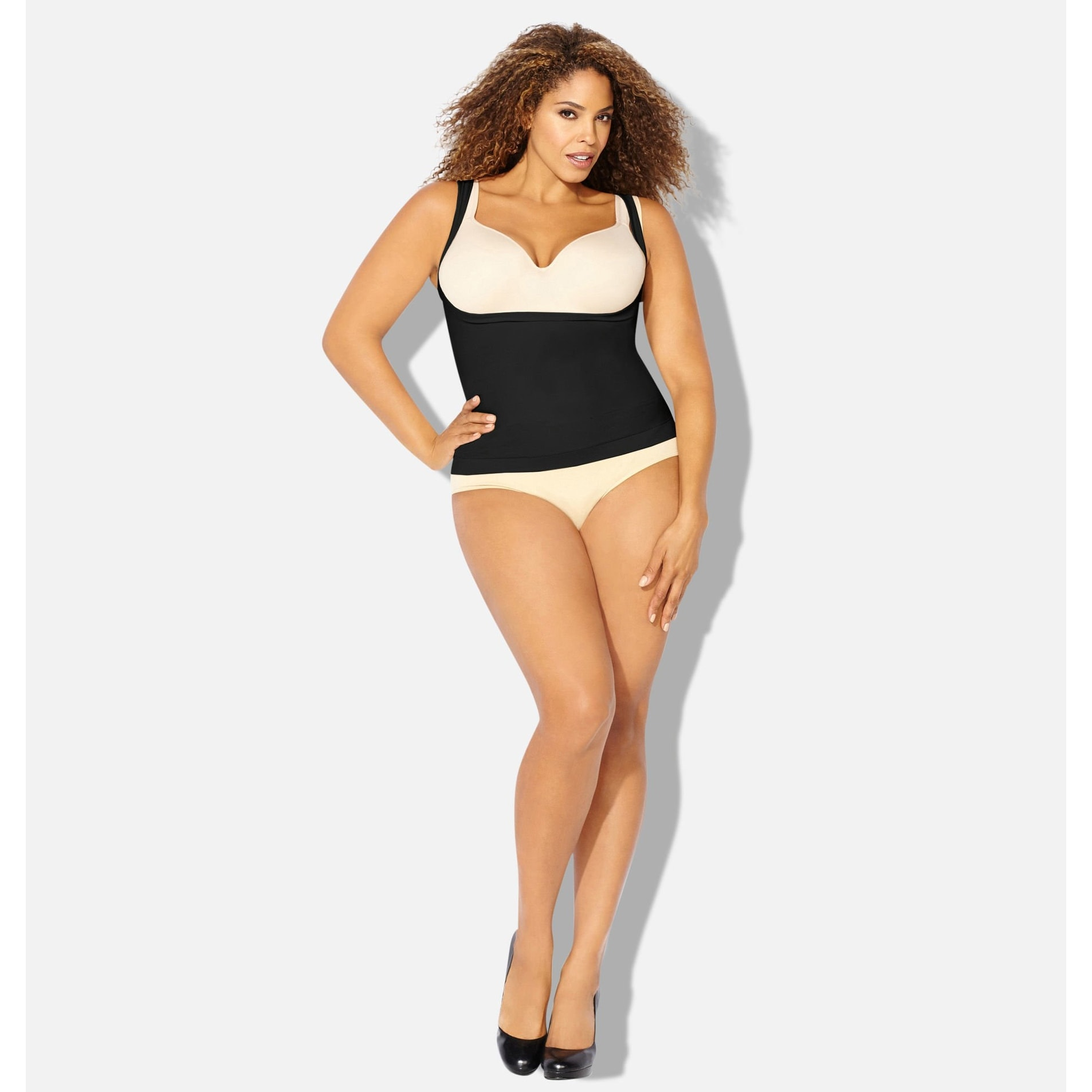 4aa52d5d6 Shop AVENUE Women s Seamless Shaping Torsette - Free Shipping On Orders  Over  45 - Overstock - 27412974