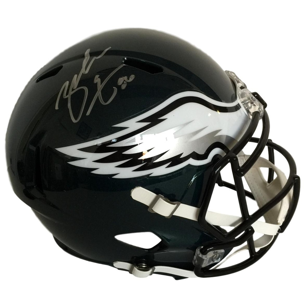 dec556ec8a4 Shop Zach Ertz Signed Philadelphia Eagles Riddell FS Speed Replica Helmet  JSA - Free Shipping Today - Overstock - 19551750