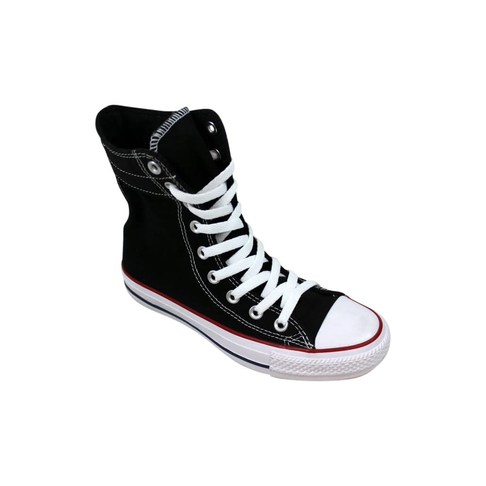 11902d1f7bfd Shop Converse Chuck Taylor Hi Rise Xtra High Black White Women s 549587F  Size 6 Medium - Free Shipping Today - Overstock - 27640559