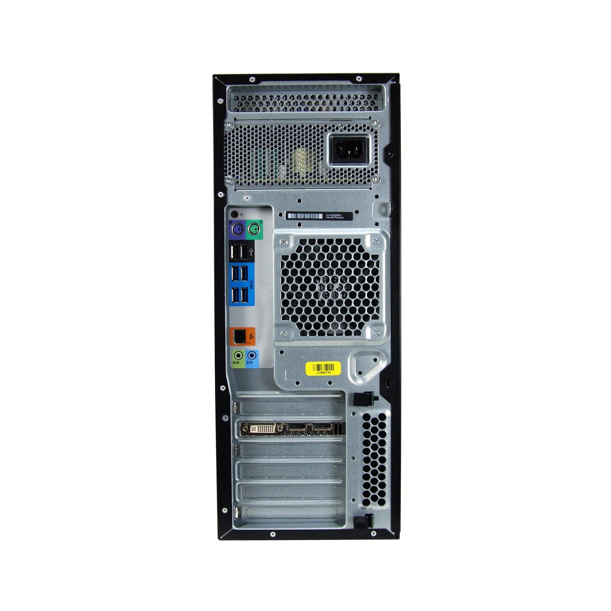 HP Z440 Intel Xeon E5-1620 V3 3 5GHz 32GB RAM 256GB SSD DVD-RW Win 10 Pro  Workstation PC (Refurbished)