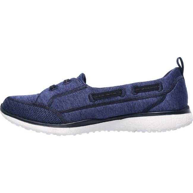 24e996c675f5 Shop Skechers Women s Microburst Topnotch Walking Slip-On Navy - On Sale -  Free Shipping Today - Overstock - 14283884