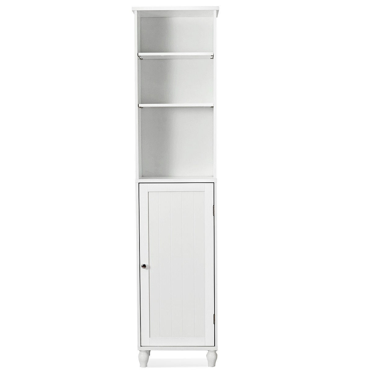 Costway Bathroom Storage Cabinet Tower Bath Shelving Display