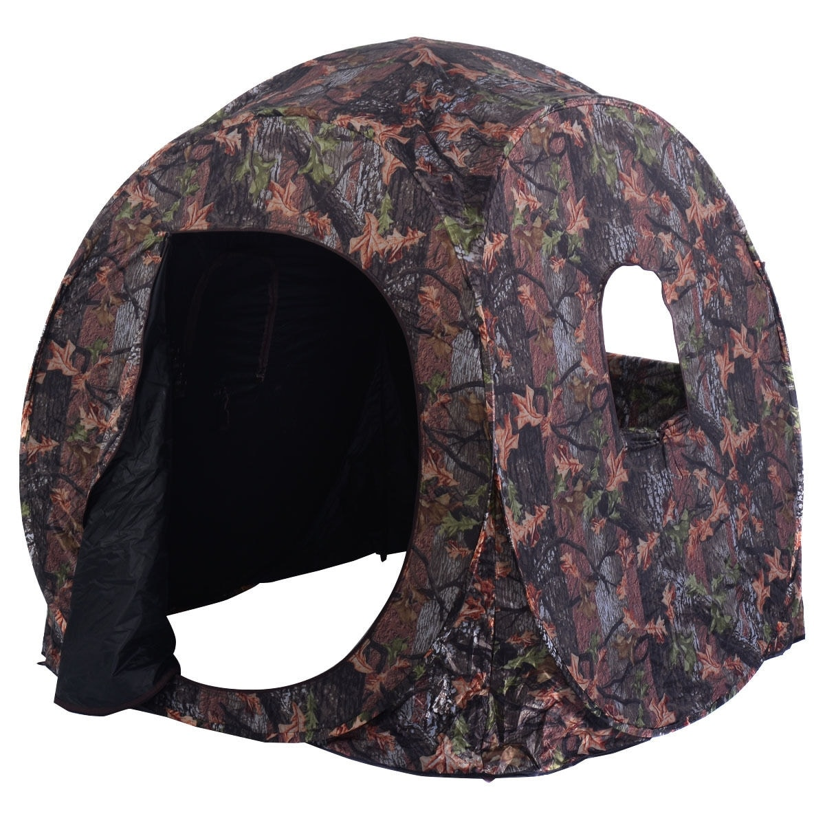 experience s natural hunting deer blind elevated worldaugie blinds and pop up hunt world adventures the