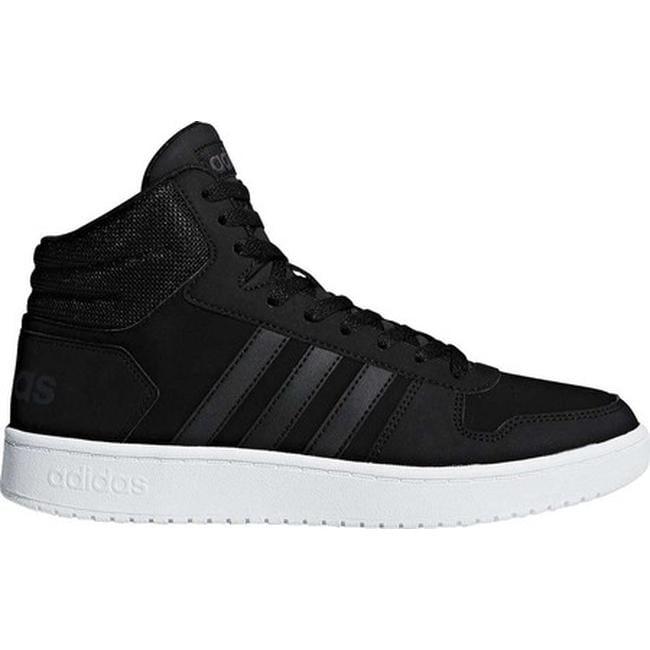 3fe855fa3e9 Shop adidas Men s Hoops 2.0 Mid Basketball Shoe Black Black Carbon ...
