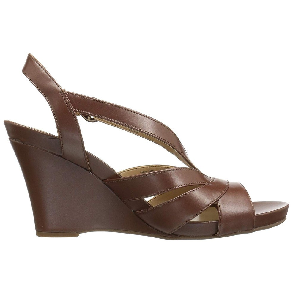 17496bf676d5 Shop Naturalizer Women s Brandy Wedge Sandal - On Sale - Free Shipping  Today - Overstock.com - 22967319