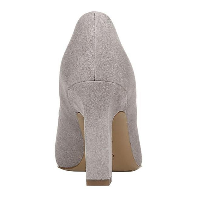 eeec13ba5339 Shop Sarto by Franco Sarto Women s Sasha Pump Grey Kid Suede - On Sale -  Free Shipping Today - Overstock - 25753221