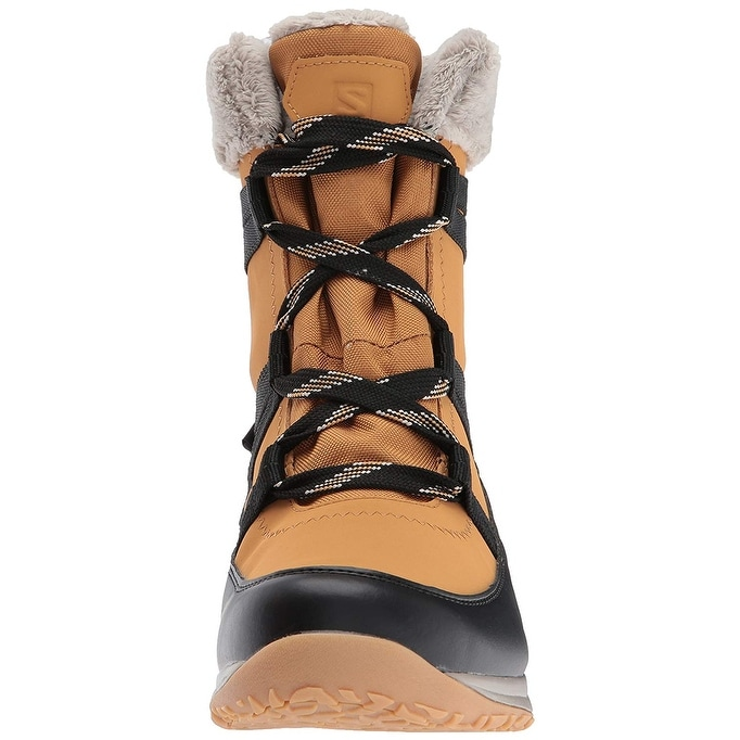 b0ab18615ebb Shop Salomon Women s Heika LTR CS Waterproof Snow Boot - Free Shipping  Today - Overstock - 22337971