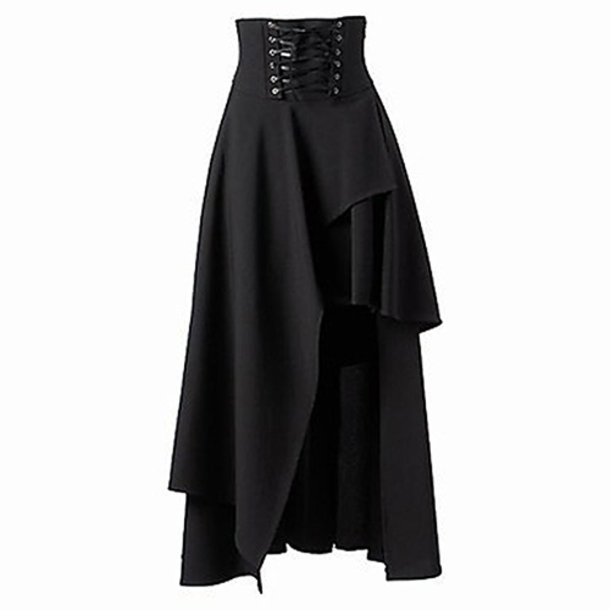 5fdc9261b Shop Women's Fashion Summer Gothic Style Bandage Black High Waist Dress  Long Skirt - Free Shipping On Orders Over $45 - Overstock - 23030407