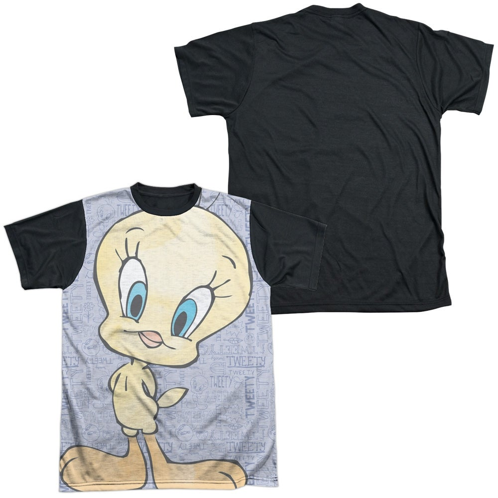 1a2bb892 Shop Looney Tunes Tweety Girl Mens Sublimation Shirt with Black Back - Free  Shipping On Orders Over $45 - Overstock - 27132961