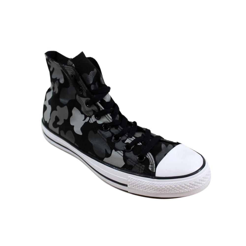 brand new 59383 23b55 Shop Converse Men s Chuck Taylor All Star Hi Black White-Charcoal 153821F -  Free Shipping On Orders Over  45 - Overstock.com - 27339508