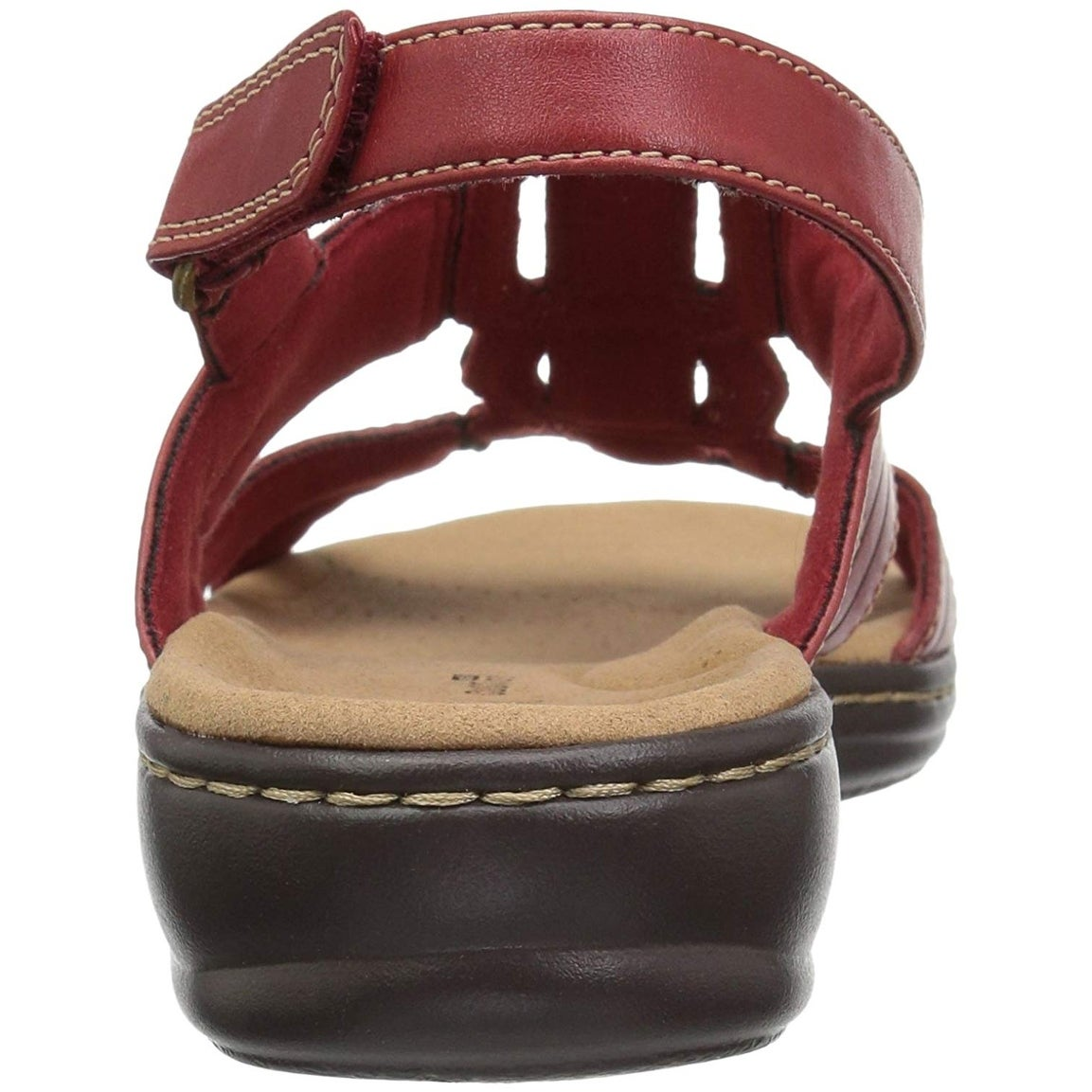 9f13bf51d39c Shop CLARKS Womens leisa vine Leather Open Toe Casual Ankle Strap Sandals -  Free Shipping Today - Overstock - 22362286