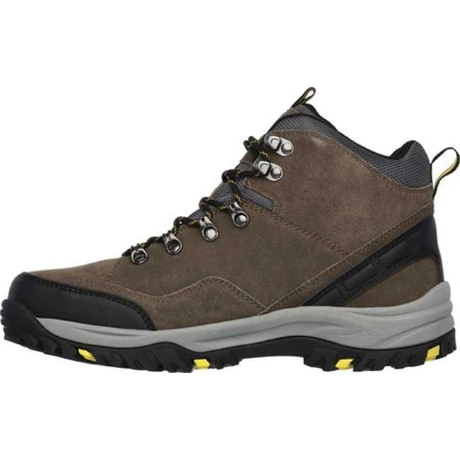 b02e93f8704 Skechers Men's Relaxed Fit Relment Pelmo Hiking Boot Khaki