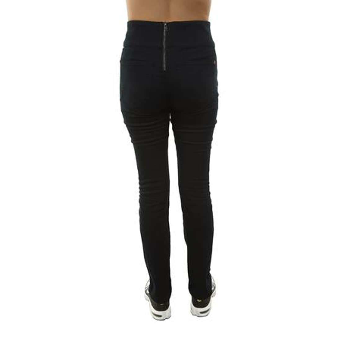 efab7afe36cdb5 Shop SPANX The Signature Straight High Rise Side Zip Straight Leg Jeans,  Very Black, 32 - Free Shipping Today - Overstock - 28362203