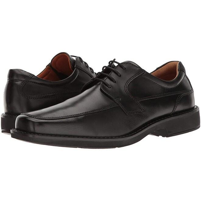 94a9cc6e Ecco Men's Seattle Apron Toe Tie Oxford Black, 45 Eu/11-11.5 M Us