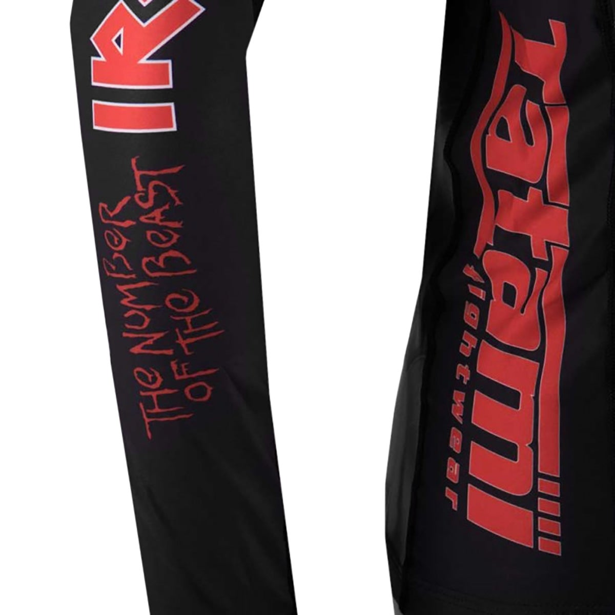 Shop Tatami x Iron Maiden Kid\'s Number of the Beast Long Sleeve BJJ ...
