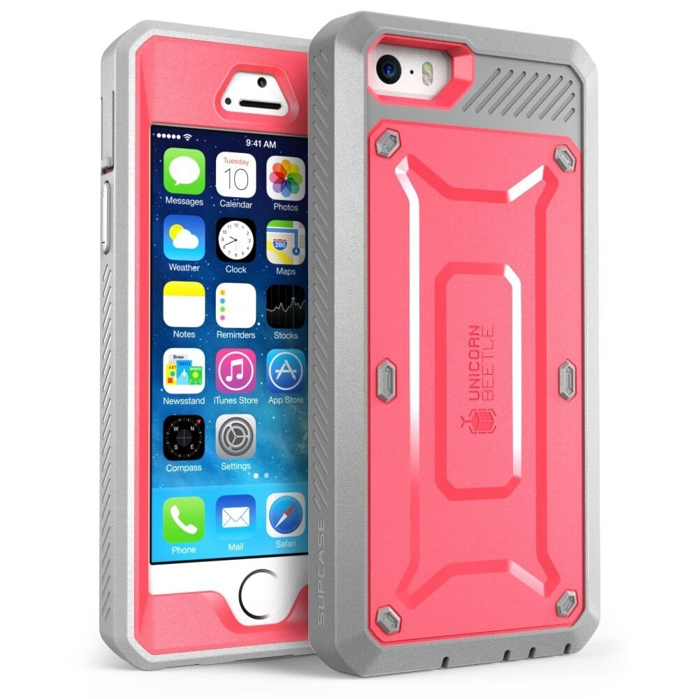 best service 36548 48f6d iPhone 6s Plus Case, Scratch Resistant, i-Blason Clear Halo for Apple  iPhone 6 Plus Case 5.5 Inch Hybrid Cover-Clear/Pin