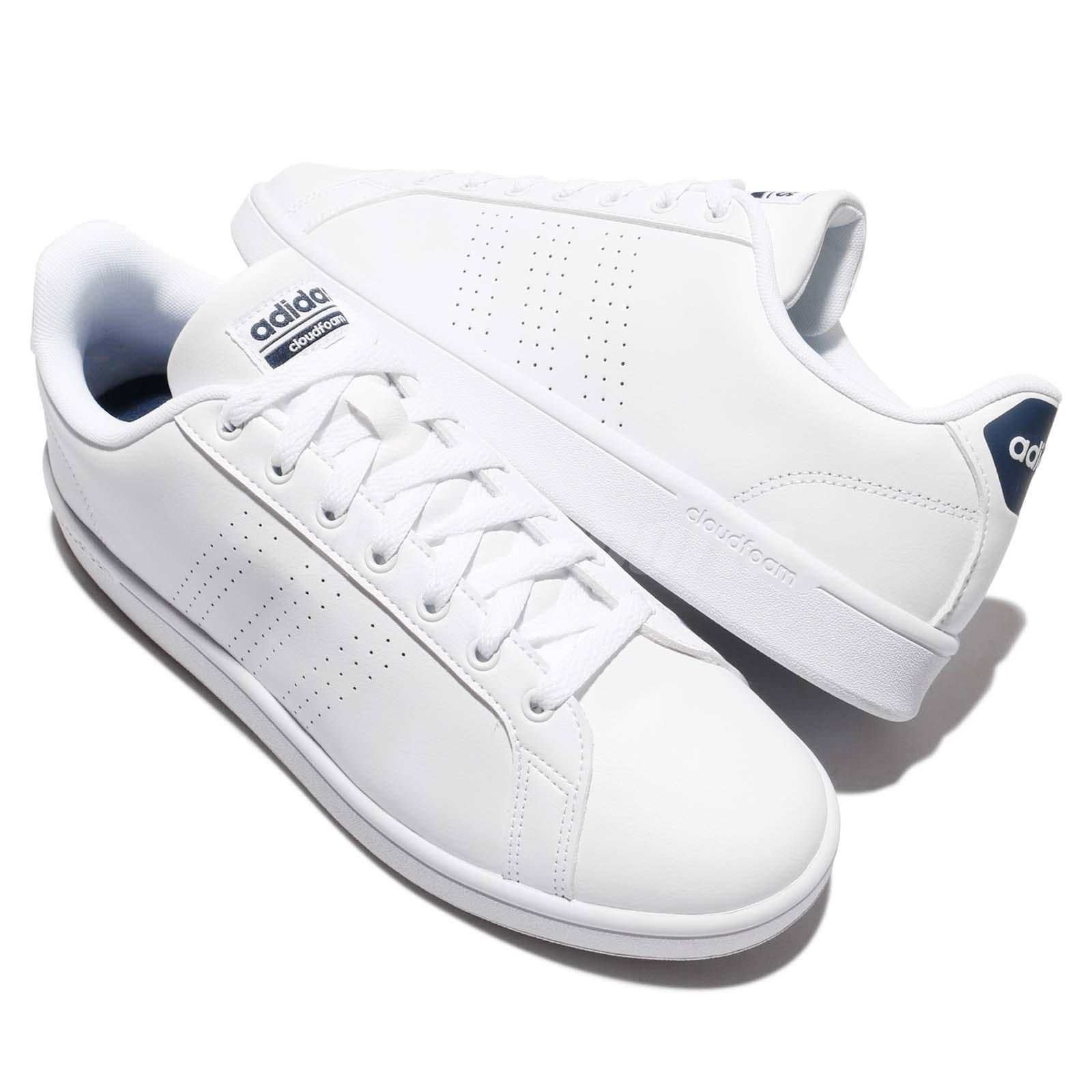 low priced fbb54 cca35 Shop Adidas Womens CF Advantage CL Low Top Lace Up Fashion Sneakers - Free  Shipping On Orders Over  45 - Overstock - 21138224