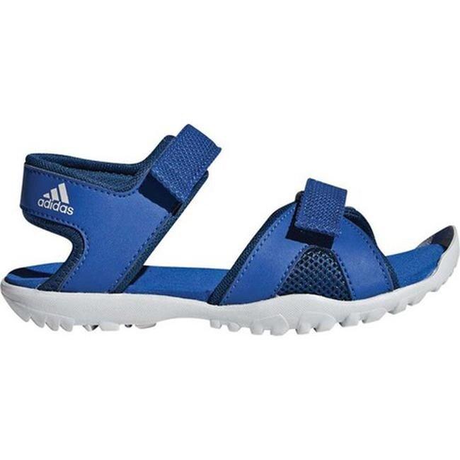6f973778a1a9 Shop adidas Children s Sandplay Outdoor Walking Sandal Blue Beauty Legend  Marine Grey One - Ships To Canada - Overstock.ca - 25753405