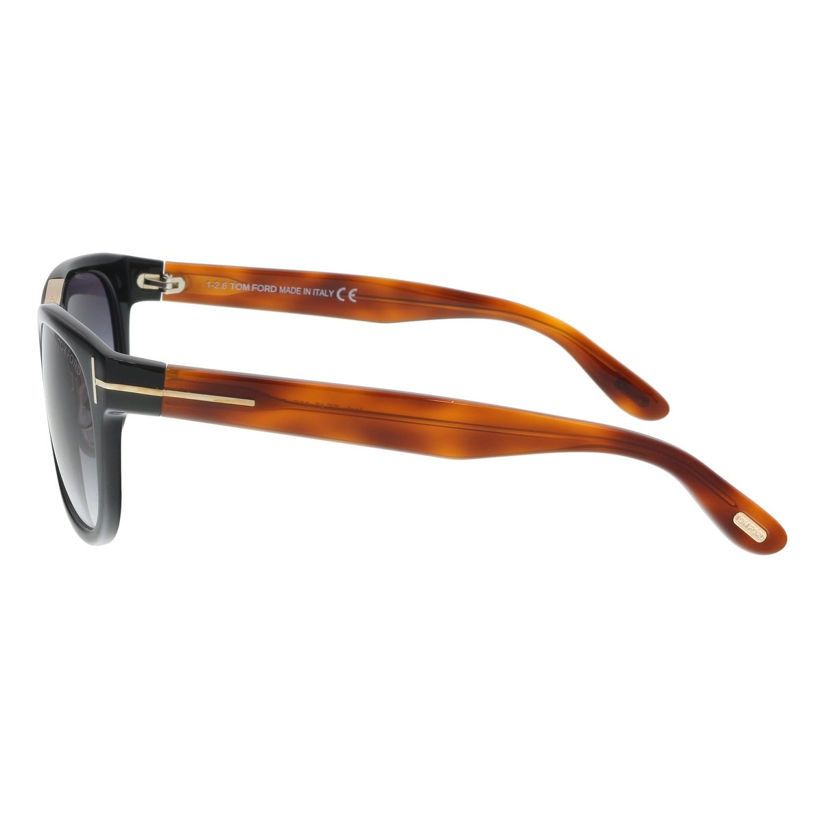 4a77744cd9 Shop Tom Ford FT0045 S 05B JACK Amber Black Square Sunglasses - 51-20-135 -  Free Shipping Today - Overstock - 19223094