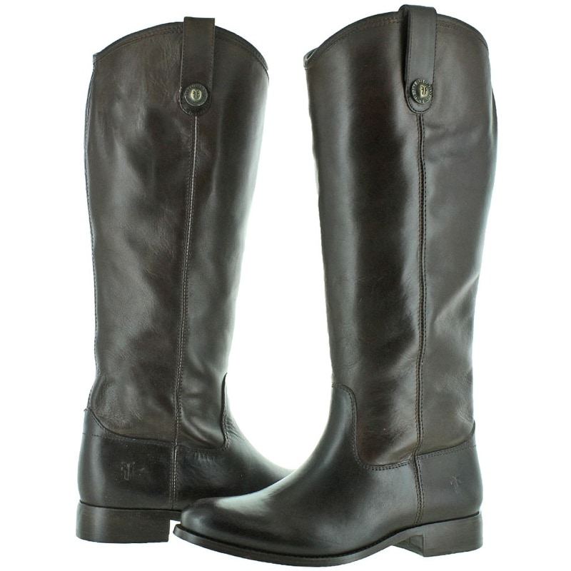 9950230b0e1 Shop Frye Melissa Button Women s Leather Riding Boots - Free Shipping Today  - Overstock - 18915495