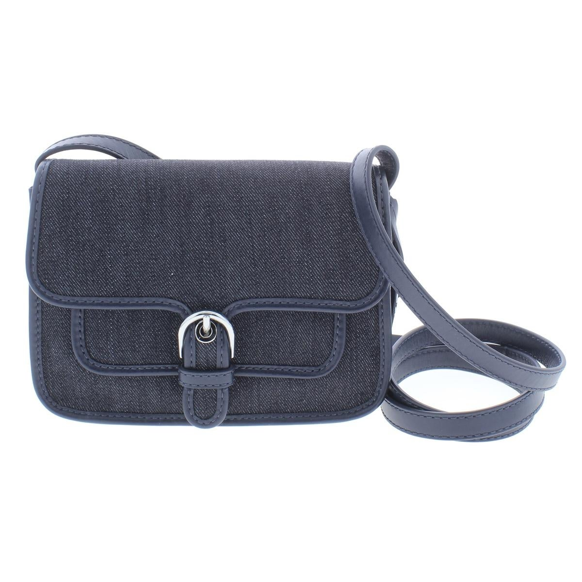 c447369ab7d3 MICHAEL Michael Kors Womens Cooper Crossbody Handbag Denim Everyday - small