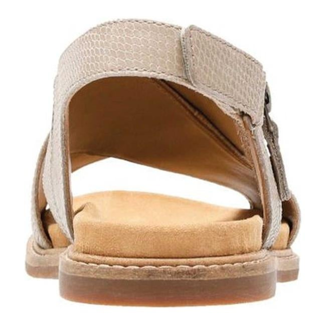 550d1214cd4b Shop Clarks Women s Corsio Calm Sandal Sand Leather - Free Shipping Today -  Overstock - 20728114