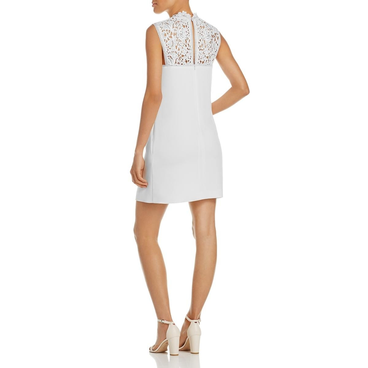 083c848fcd Shop Theory Womens Aronella Party Dress Lace Crepe - Free Shipping Today -  Overstock - 20813912