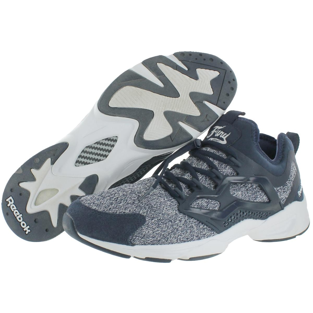 af90e2f4287 Shop Reebok Mens Fury Adapt Running Shoes Hexalite Ortholite - 11 Medium  (D) - Free Shipping On Orders Over  45 - Overstock - 22311180