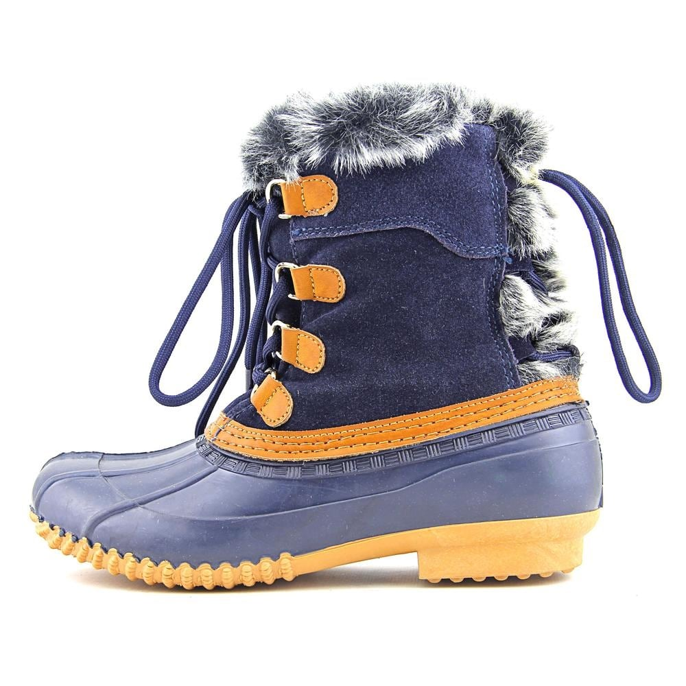 1ef23a9f91bce3 Shop Tommy Hilfiger Rellenna Round Toe Suede Winter Boot - Free Shipping On  Orders Over  45 - Overstock - 13565720