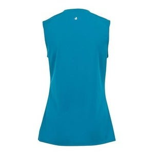 be0a758a2ad4 Shop B-Core Women's Sleeveless T-Shirt - Electric Blue - L - Free Shipping  On Orders Over $45 - Overstock - 16208664