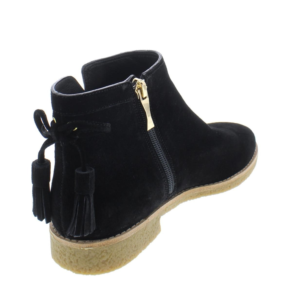 548414ce9082 Shop Kate Spade Womens Bellville Too Booties Suede Tassel - Free Shipping  Today - Overstock - 24077323