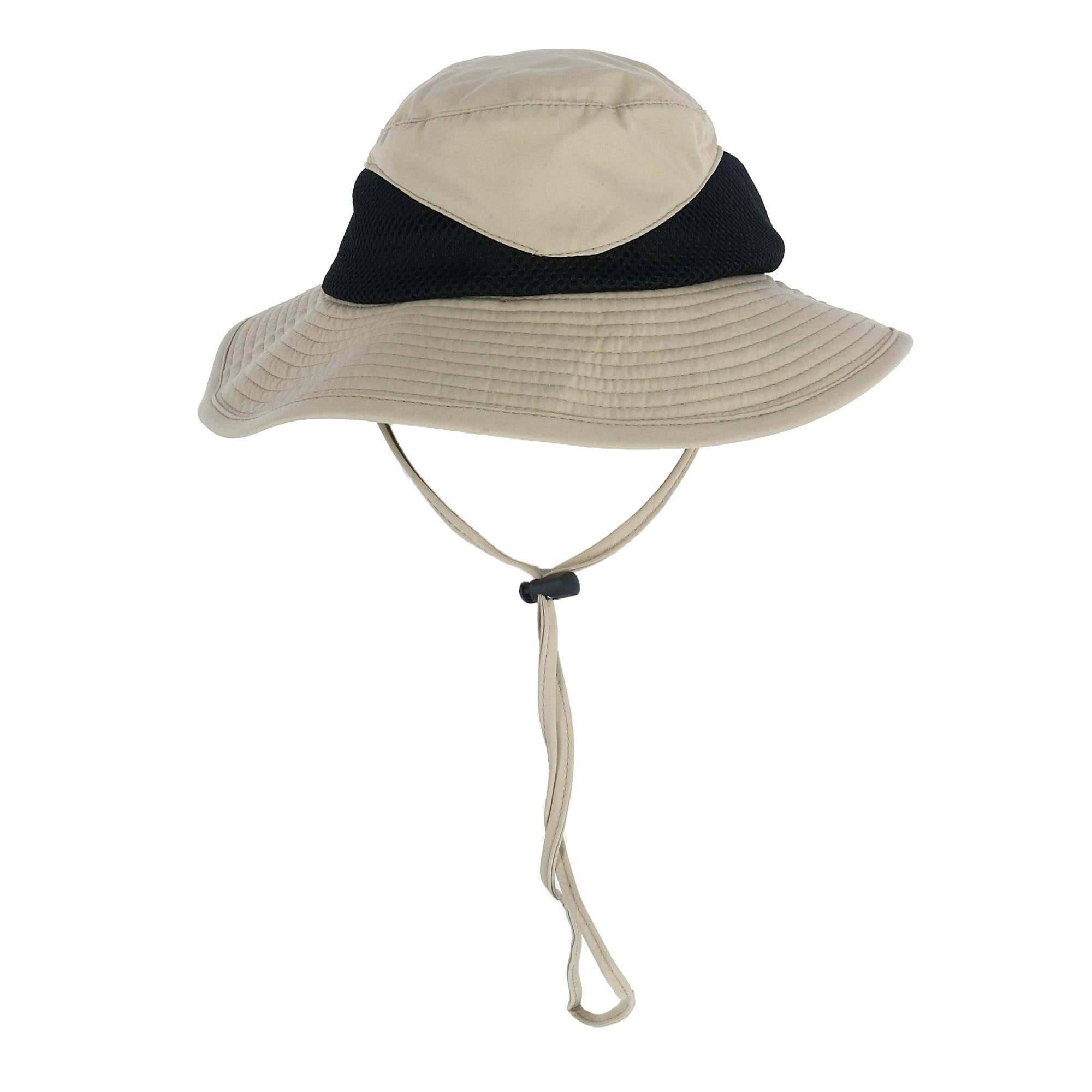 552f57fcca769a Shop Kenny K Men's Breathable Bucket Hat with Chin Cord - Free Shipping On  Orders Over $45 - Overstock - 28034934