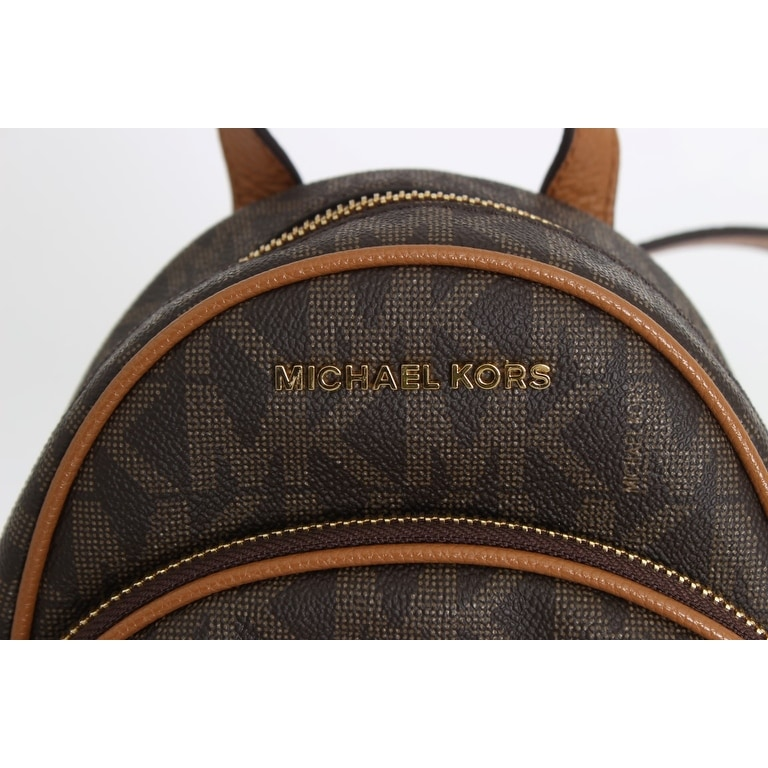 6f3c7100a5 Shop Michael kors Michael kors Brown ABBEY Leather XS Backpack - One size -  Free Shipping Today - Overstock - 21178142