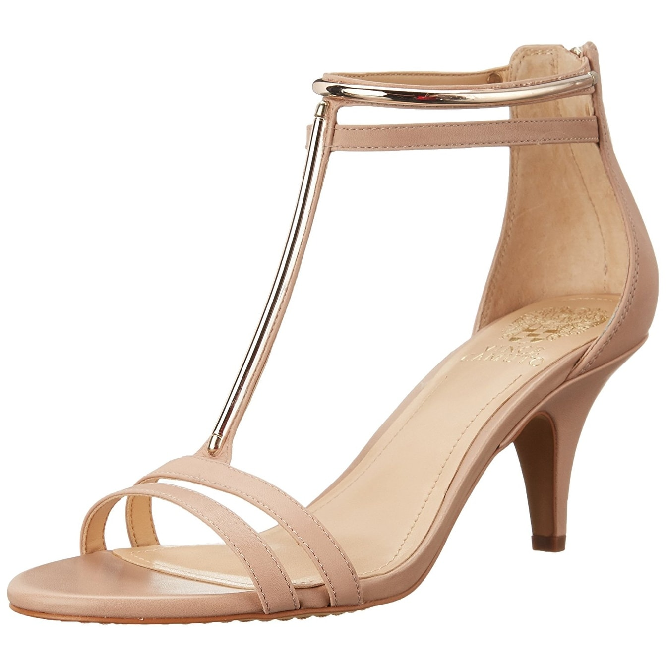 67f5c4e3a5f9 Shop Vince Camuto Womens Mitzy Leather Open Toe Special Occasion T-Strap  Sandals - Free Shipping Today - Overstock - 15026206