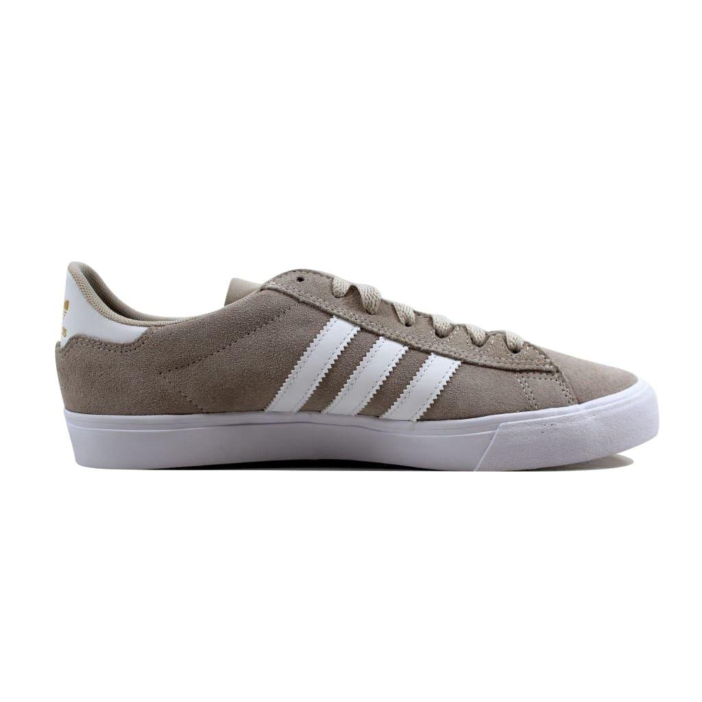 super popular f59b4 6e6bc Shop Adidas Men s Campus Vulc II Chalk White Cloud White-Gold Metallic  DB0385 - On Sale - Free Shipping Today - Overstock - 22919350