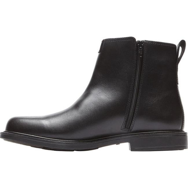 76789437174 Dunham Men's James-DUN Waterproof Ankle Boot Black Leather