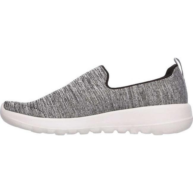 c0f485a47120 Shop Skechers Women s GOwalk Joy Enchant Slip-On Walking Shoe Black Gray -  On Sale - Free Shipping Today - Overstock - 19427094