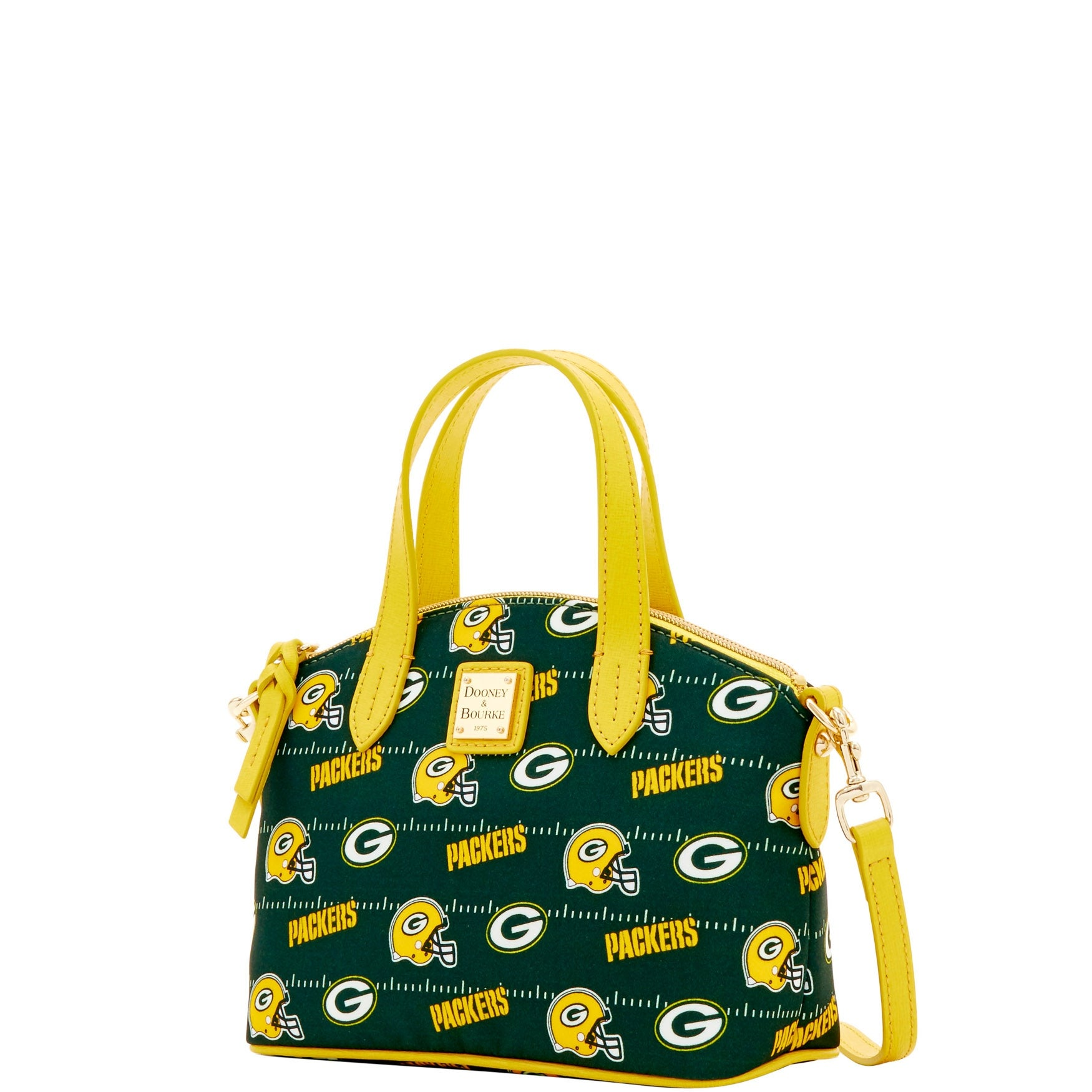 Dooney & Bourke NFL Signature Ruby Bag (Green/Yellow/Packers) Bags AxHKNqa